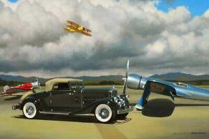 1933 Pierce Arrow by Stan Stokes