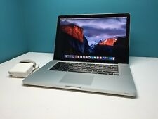 "MacBook Pro 15"" Pre-Retina OSX-2017 / Core i7 2.3Ghz / 16GB / 1TB SSD Hybrid"