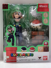 2014 S.H. Figuarts Nintendo Super Mario LUIGI action figure SHF will bros
