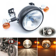 35W Moto phare Bulb Headlight Lampe Feu clignotants Optiques Support Pour Harley