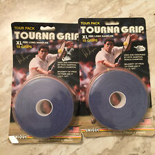 Tourna Tourna Grip 10 Grip Pack - XL Blue (New) Tennis