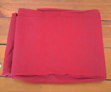 "Vintage Heather Burgundy Wine Woven Cotton Quilting Cutter Fabric 44""x 2.6 yds"