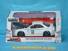 1:24 Jada - 2002 Nissan Skyline GT-R (R34) - White