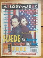 Melody Maker 19/6/93 Suede cover Free Festival Guide, Grant Lee Buffalo, East 17