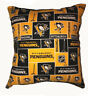 Penguins Pillow Pittsburgh Penguins Pillow NHL Handmade in USA Pillow In USA