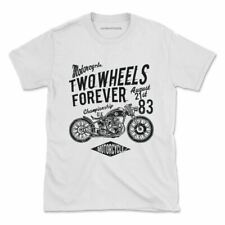 Retro Motorcycle Tshirt Vintage Motorcycle Bike USA Womens Mens