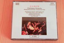 Bach - Oratorio Noël Christmas BWV 248 - Kertesi Nemeth Oberfrank  ...3 CD Naxos