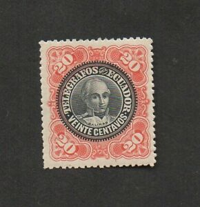 Ecuador, telegraph stamp.  Pictures Juan Jose de Salinas y Zenitagoya 1755-1810