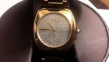 Croton Diamond Dail Stainless Steel Gold tone Men's watch
