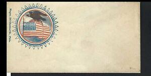 MULTICOLOR FLAG & EAGLE PATRIOTIC
