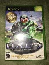 HALO XBOX COMBAT EVOLVED GAME  Great Condition For XBOX