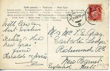 Norwegen - alte Postkarte 1907