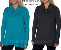 NEW WOMENS MARC NEW YORK ANDREW MARC PERFORMANCE FLEECE COWL NECK TUNIC VARIETY