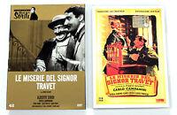 LE MISERIE DEL SIGNOR TRAVET DVD Gazzetta 1945 ALBERTO SORDI MARIO SOLDATI CERVI