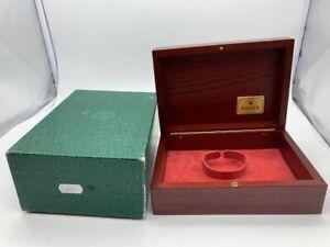 VINTAGE GENUINE ROLEX Daytona 116523 watch box case wood 69.00.09 0821001y