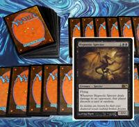 mtg BLACK DISCARD DECK Magic the Gathering rares 60 card hypnotic specter duress