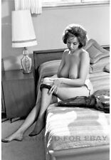Model nude girl print leggy busty art woman female picture JULIE-L