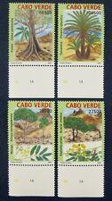 Kap Verde Cabo Verde 2004 Bäume Trees Pflanzen Plants 845-48 Postfrisch MNH