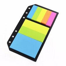 A5/A6/B5 Personal Sticky Notes Assorted Diary Insert Refill Organiser Sticker #A