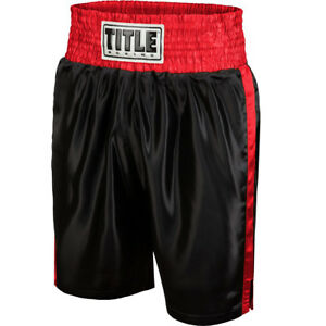 Title Boxing Youth Classic Edge Satin Performance Boxing Trunks