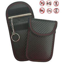 Portable Signal Blocker Cas De Clé De Voiture RFID Blocage Sac avec Porte-clés·
