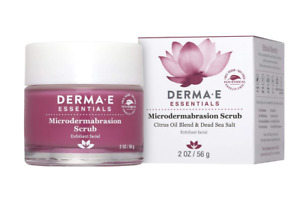 DERMA E Microdermabrasion Scrub with Dead Sea Salt- essential Microderm
