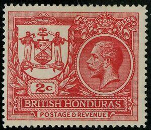 British Honduras  1921   Scott # 89  Mint Lightly Hinged