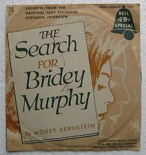 The Search for Bridey Murphy (Bernstein)Bell 49-cent 78 rpm Record in Sleeve