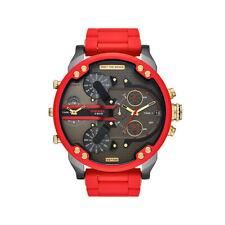 2020 Mr. Big Daddy DIESEL 2.0 Rosso Cronografo in Acciaio Inox Orologio Da Uomo DZ7430