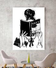 Contemporary (1980-Now) White Fashion Art Prints