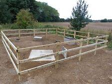 Half Round Fencing Rails - HIRE Post Knocker / Driver / Rammer Norwich Norfolk