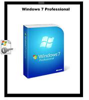 Genuine Microsoft Windows 7 Pro Professional 32/64bit Product Activation Key