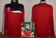 Southampton Match Worn football Training sweat shirt LUKE SHAW Manchester United