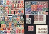 Francia, colonie - Lotto di 107 francobolli - Linguellati (* MH)