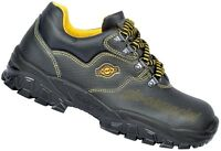 MENS LEATHER WORK SAFETY SHOES TRAINERS STEEL TOE CAP COFRA NEW TAMIGI S1 P SRC