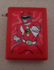 """POWER RANGERS RED BEEPER BANDAI BOYS GIRLS 1993 5&UP ACCESSORIES 2"""" WITHOUT PKG"""