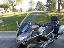 "2013 and up Yamaha FJR 1300 Dark Tint 21"" Windshield Custom Made in USA"