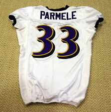 #33 Jalen Parmele Authentic Game Issued/Player Worn Ravens Jersey