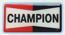 Champion Spark Plugs Sticker 3D-Gel Retro Style Bubble Sticker 09cm x 05cm