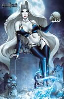 "Lady Death Dreams #1 ""RIP""   PGX 10.0 GRADED & SLABBED Ltd. Ed. 200 Comic Book"