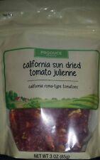 organic sun dried california tomato, julienne cut, 3oz, Lot of 13