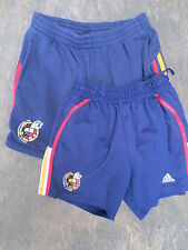 Lot 2 Short ESPAGNE football vintage ADIDAS Espana Spain collector 40 D 4 E S