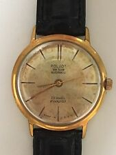Montre POLJOT DE LUXE, 29 JEWELS, AUTOMATIC, Au20, URSS USSR Soviet Russie watch
