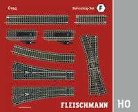 "Fleischmann H0 6194 Profi-Gleis ""Bahnsteig-Set F"" - NEU + OVP"