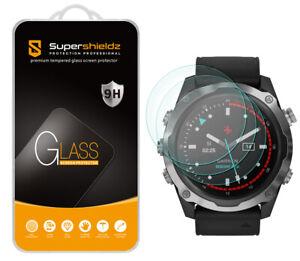 3X Supershieldz Tempered Glass Screen Protector for Garmin Descent MK2 52mm