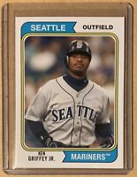2020 Topps Archives KEN GRIFFEY JR. 1974 Style Base Card Mariners #153