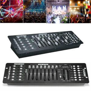 192-Channel DMX Controller Mini Lighting Stage Light Console DJ Disco Christmas