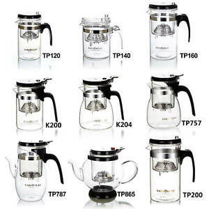Practical Well-Designed Glass Tea Pot with infuser Convenient Coffee Cup