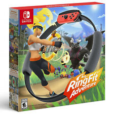 New Nintendo Ring Fit Adventure Nintendo Switch Game