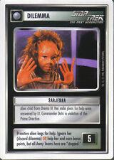 STAR TREK CCG WHITE BORDER PREMIERE 1995 BETA RARE CARD SARJENKA